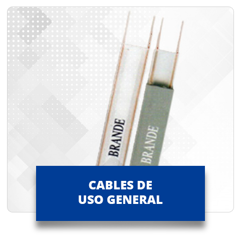 Cables uso general